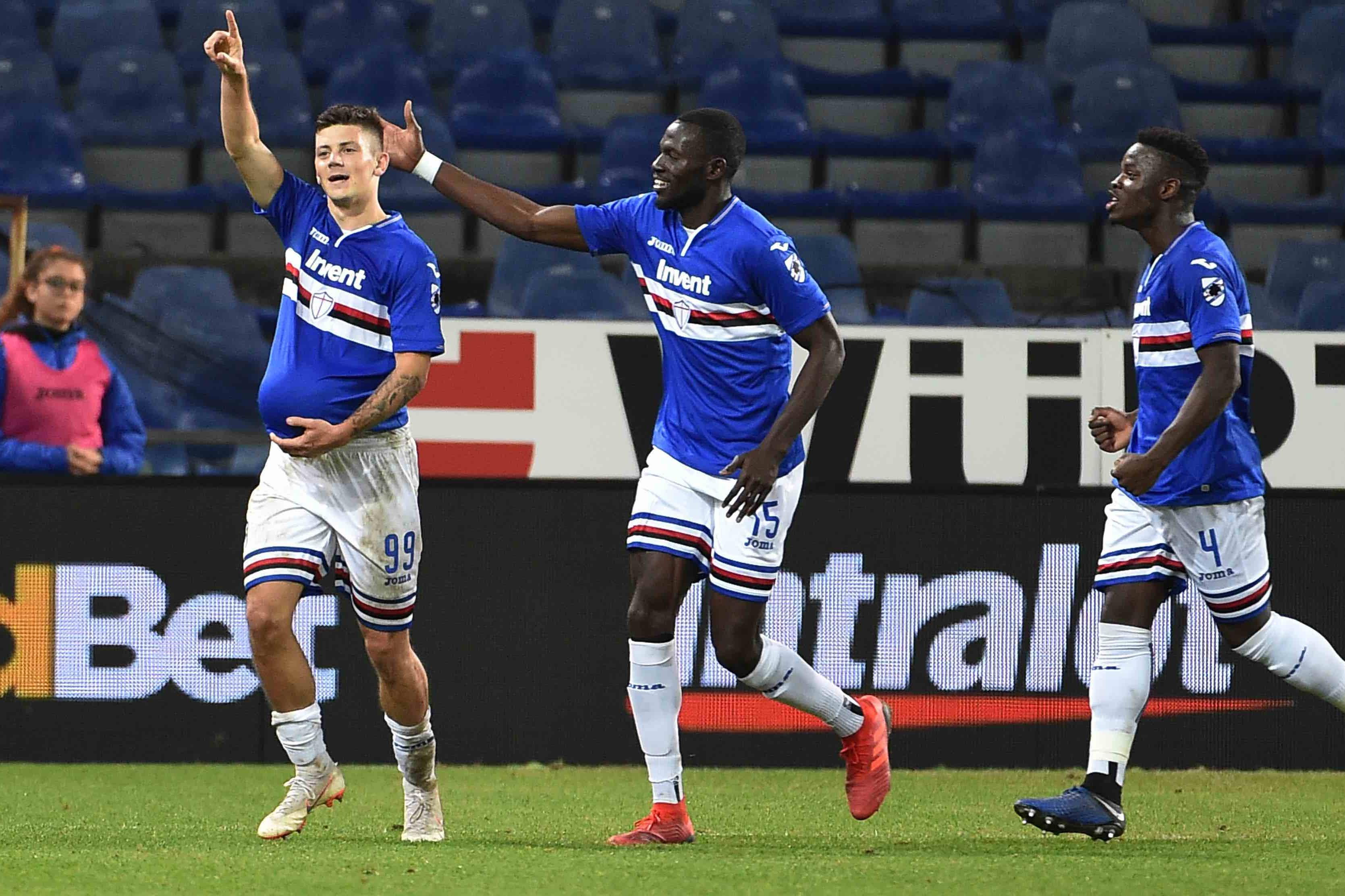Sampdoria Jubel