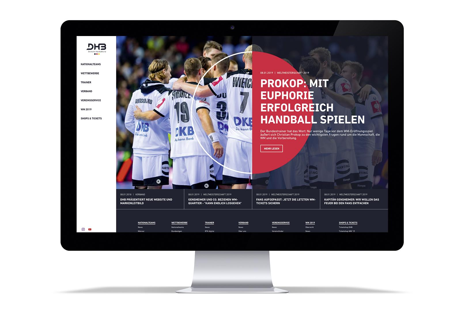 DHB Website